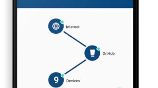 Det følger med en app som gjør det lett å holde oversikten og for å feilsøke nettet.