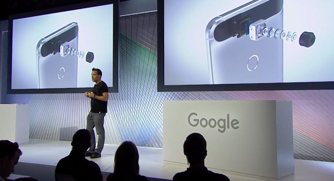 Nexus 6P har et 12,3MP-kamera.