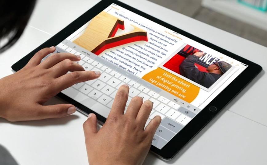 "Dette er iPad Pro 12,9""."
