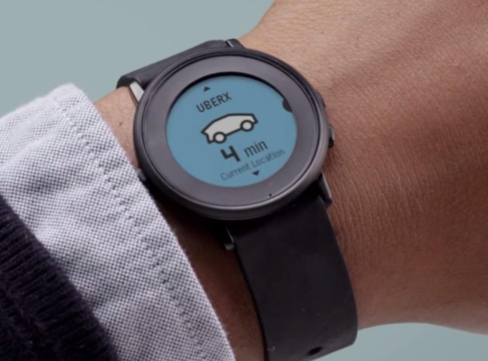 Ubers app på nye Time Round.
