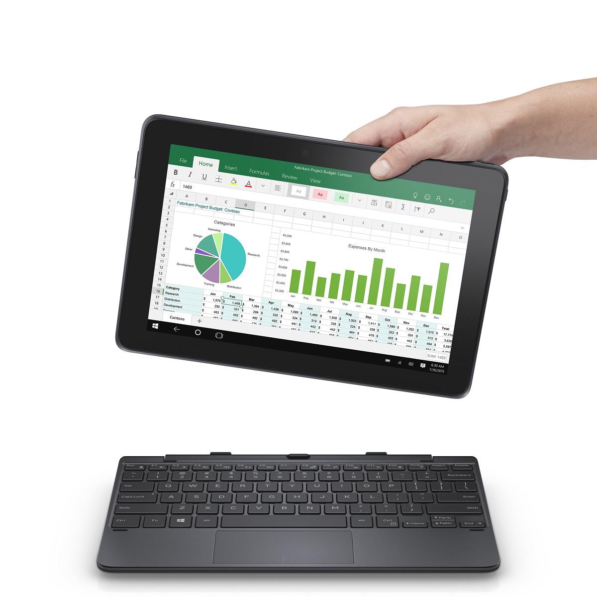 Dell Venue 8 Pro med Windows 10.