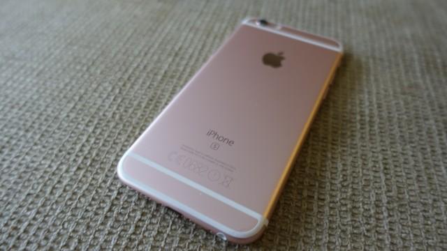 Dette er iPhone 6s i rosegull