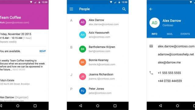 Slik blir den nye Outlook-appen til Android.