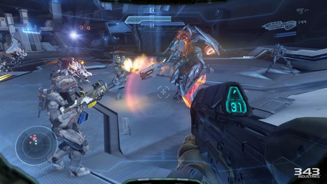 Promtheans er like frustrerende og vanskelige som i Halo 4.