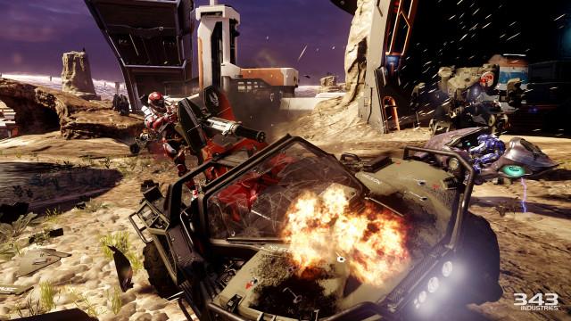 Flerspiller er alltid like actionfylt i Halo 5.