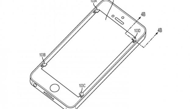 Slik ser patentsøknaden til Apple ut.