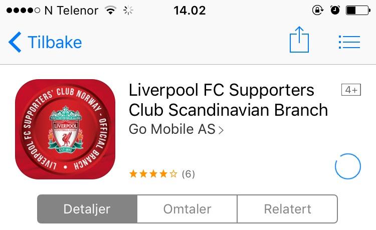 Vi prøver, men vi får ikke lastet ned apper fra App Store.