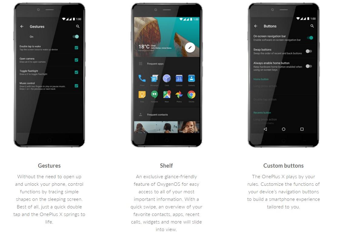 OnePlus' Oxygen OS ser lekkert ut på den nye mobilen.