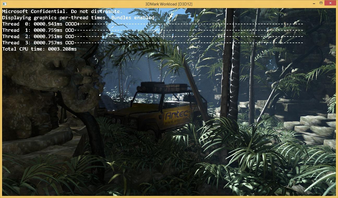 Microsoft har portet 3DMark til DirectX 12 og fått dobbelt så rask render-tid.