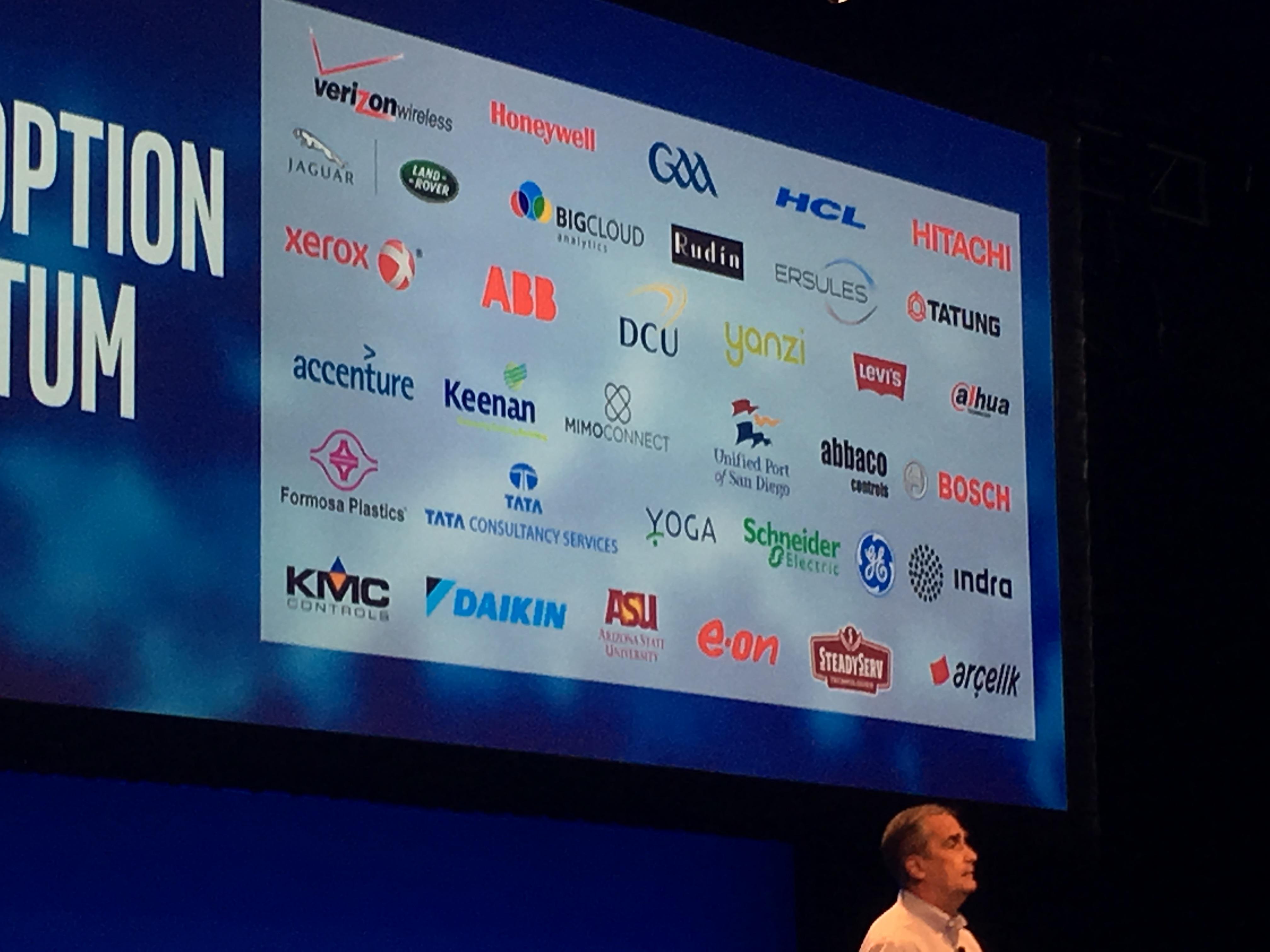 En rekke selskap er allerede med på Intel IoT-løsning.