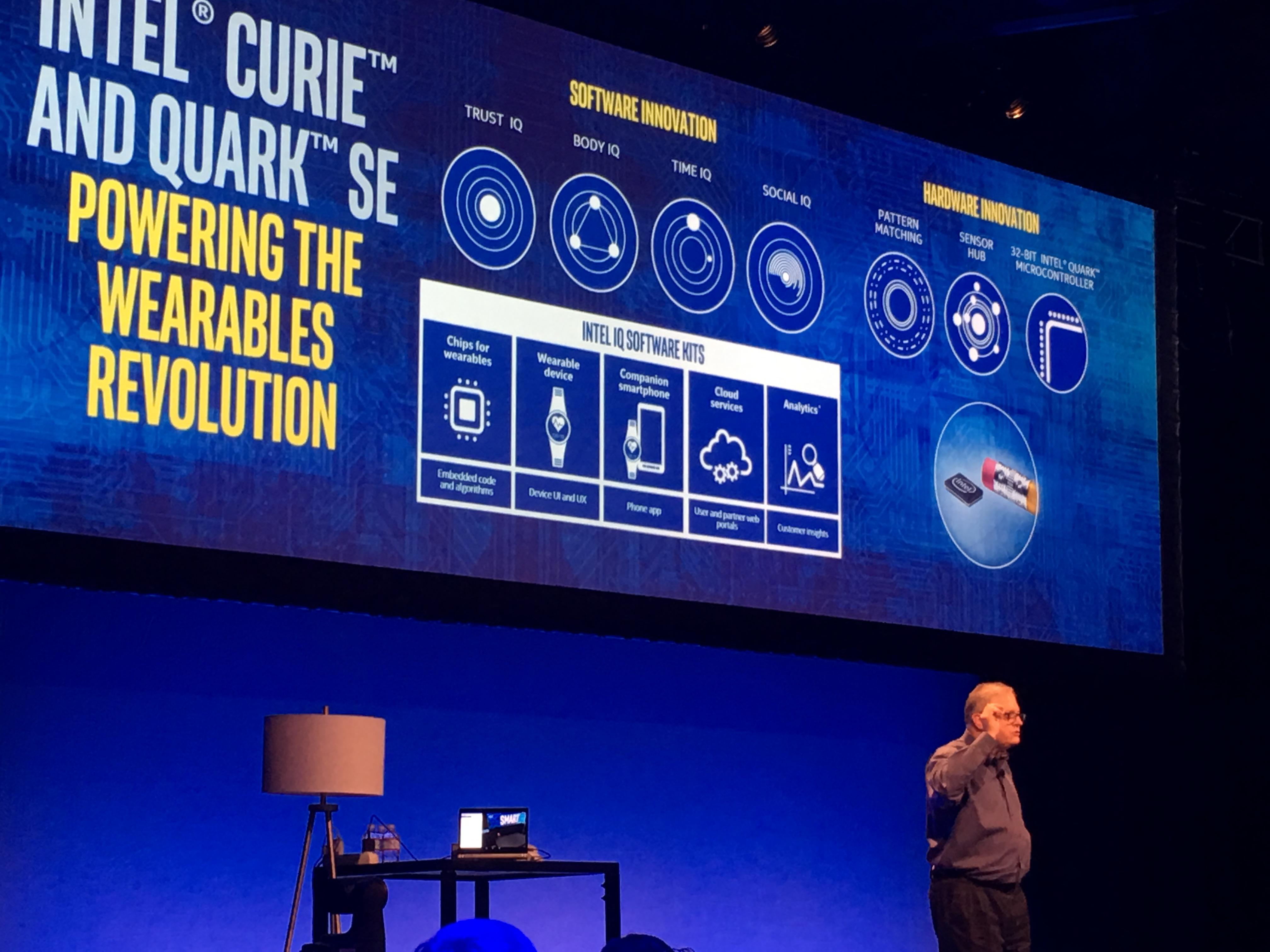 Intel's wearable-brikke er virkelig knøttliten.