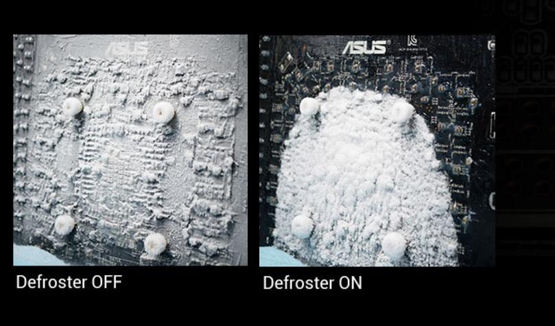 Det finnes til og med en defrost-funksjon om man driver med ekstrem-kjøling.