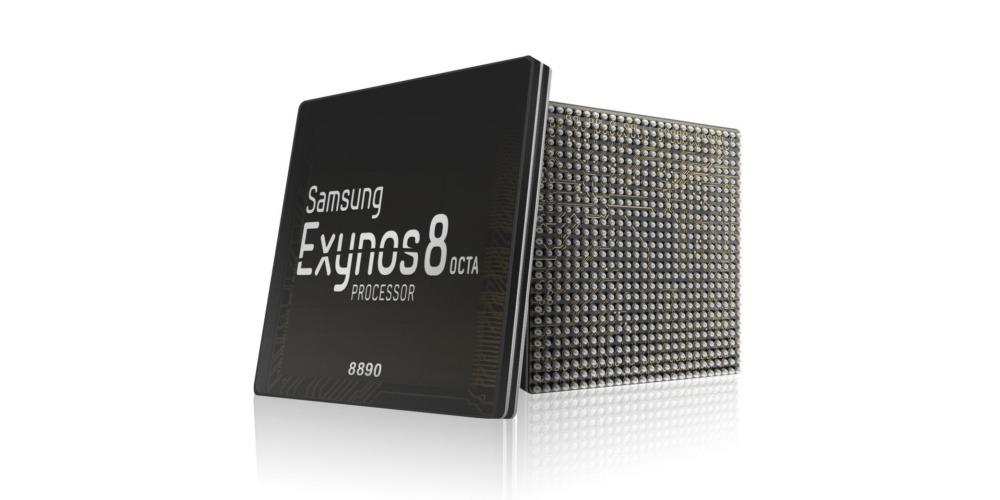 Samsung Exynos 8 Octa.