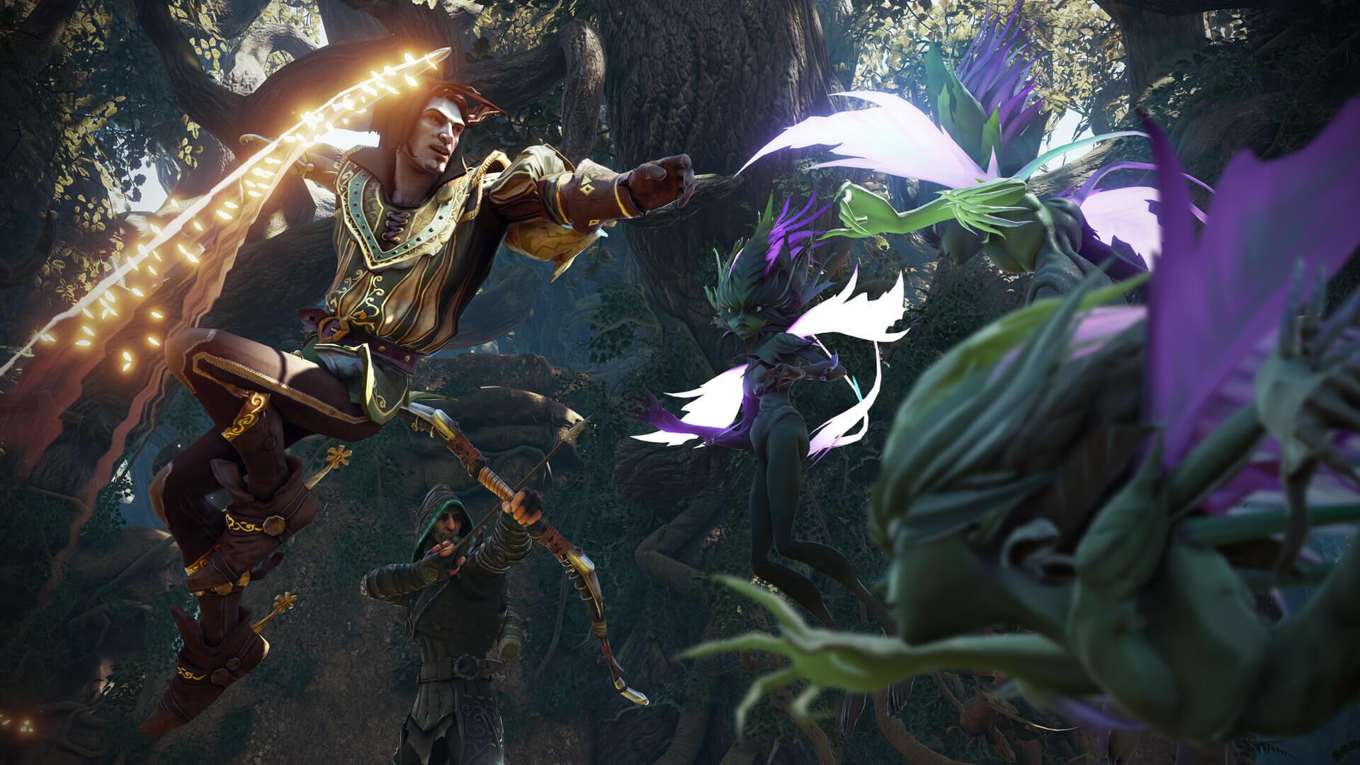 Fable of legends bruker Unreal Engine 4 - i likhet med svært mange kommende spill til DirectX 12.