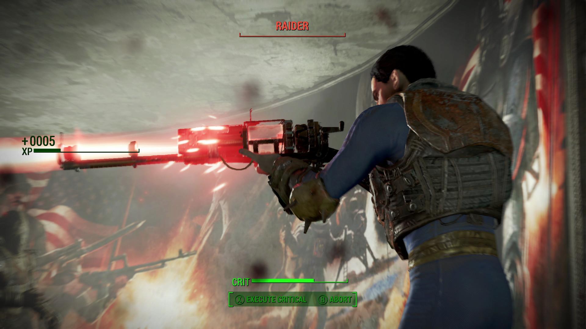 Fallout 4 er litt mer action-sentrisk enn tidligere. Heldigvis er også den delen av spillet morsommere.