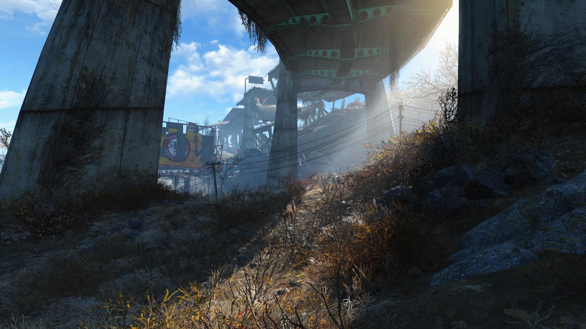 Det er pur nytelse å utforske Fallout 4.
