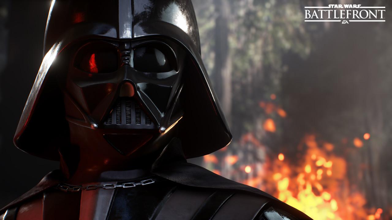 Darth Vader er selvsagt på plass.