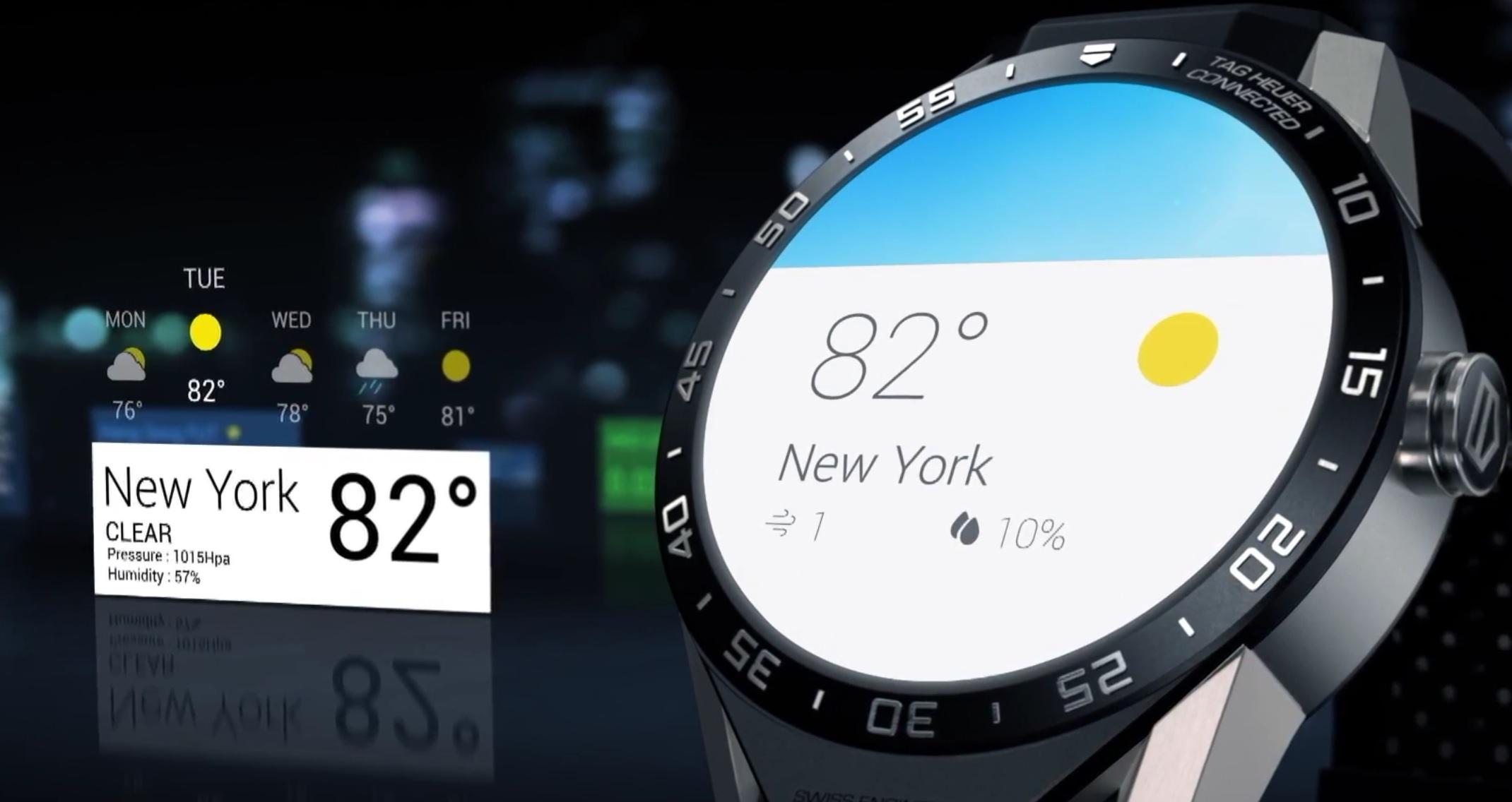Tag Heuers 13 000 kroners klokke kjører Android Wear.
