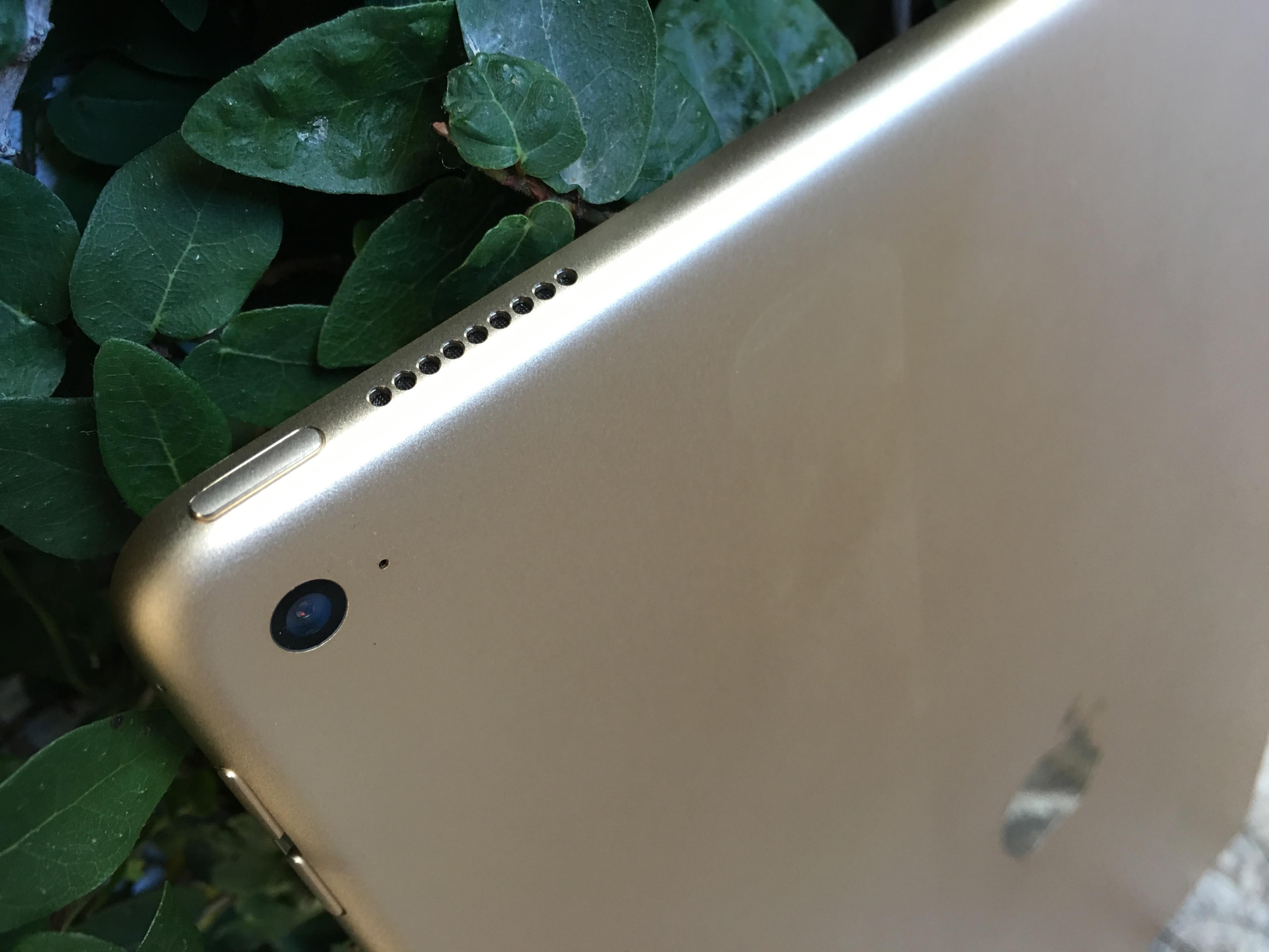 Designet er prikk lik de andre iPad-modellene.