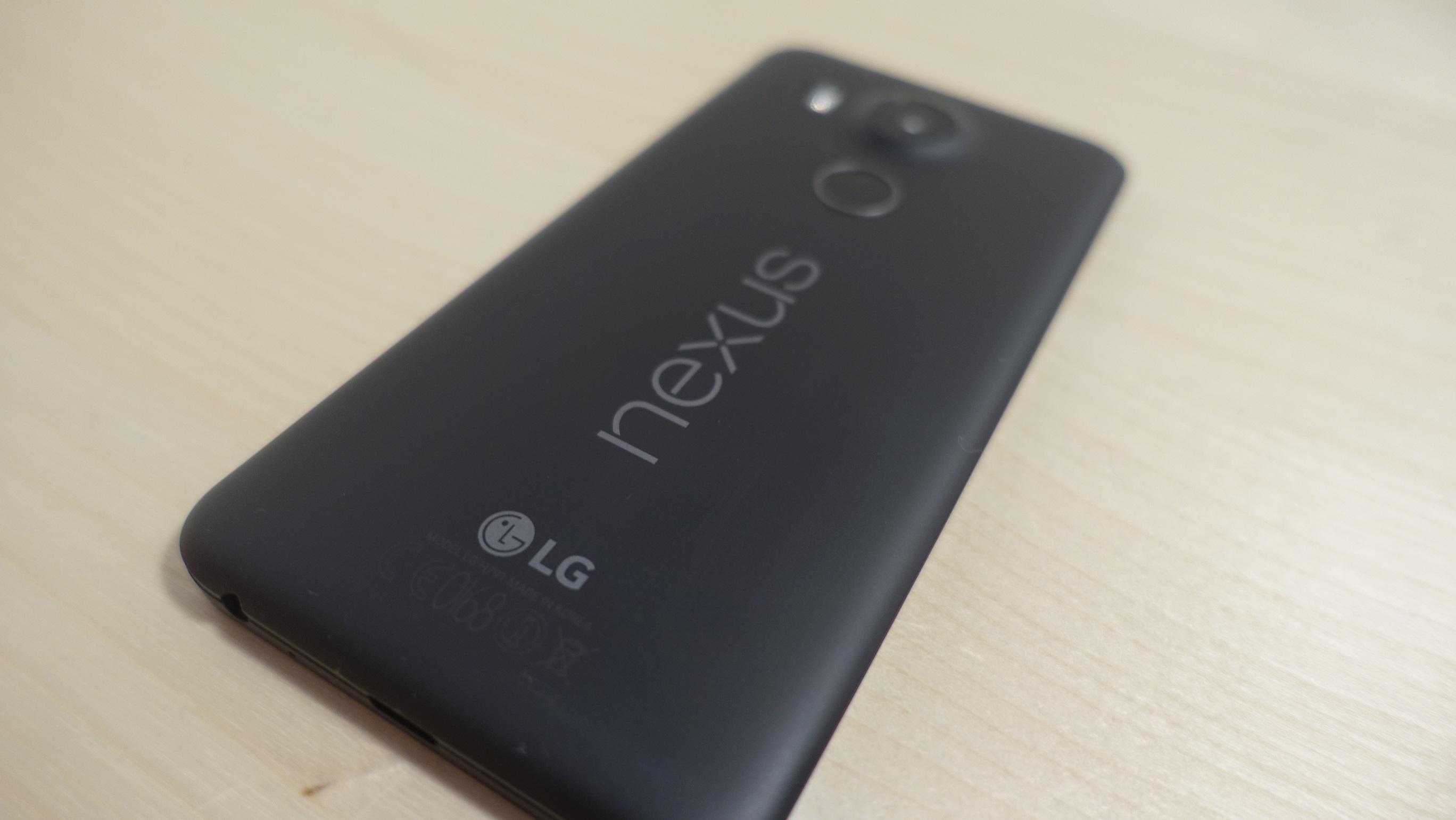 Baksiden av Nexus 5X minne svært mye om Lumia 640.