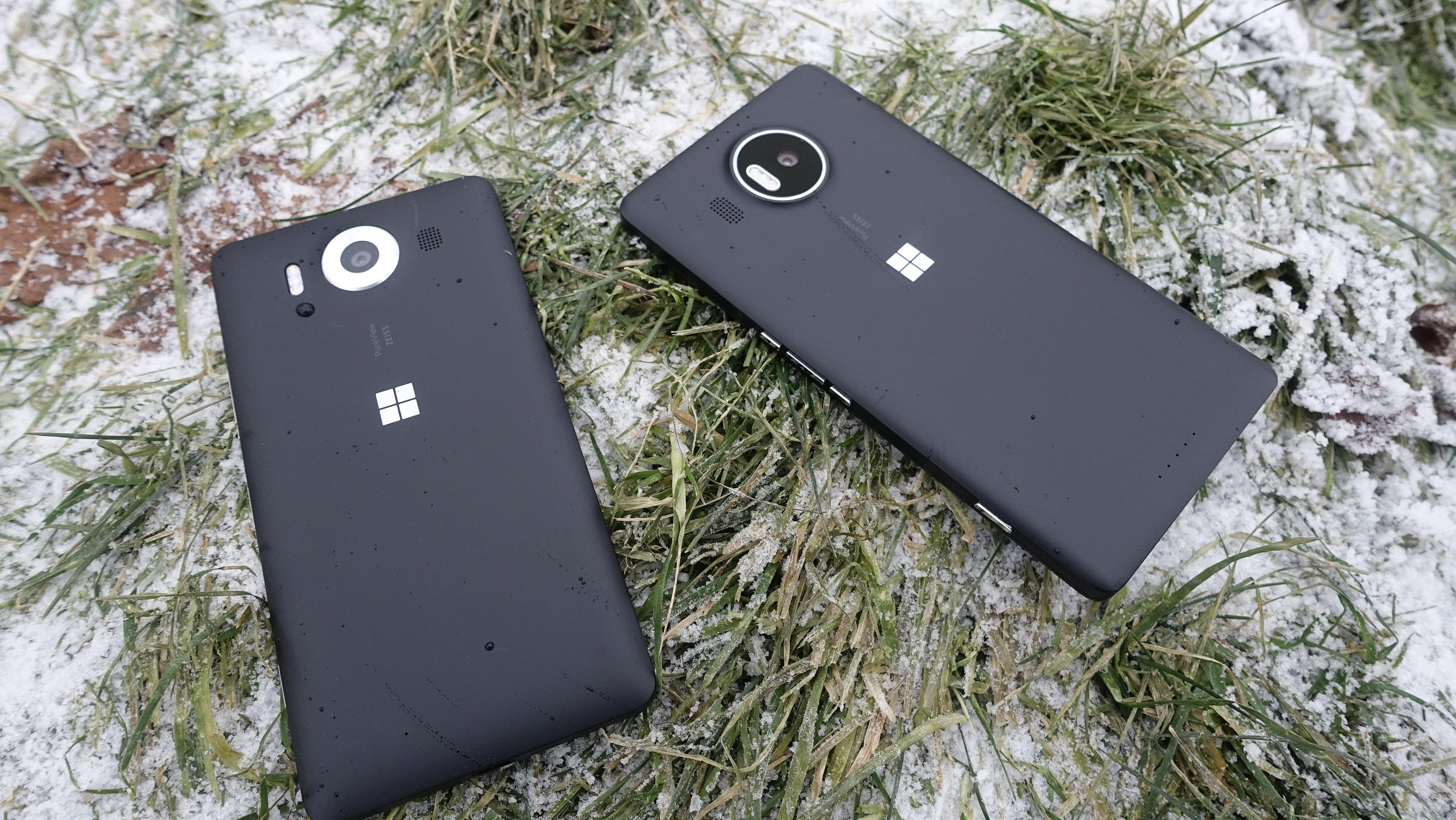 Lumia 950 og 950 XL kommer ikke til å vinne noen designpriser.