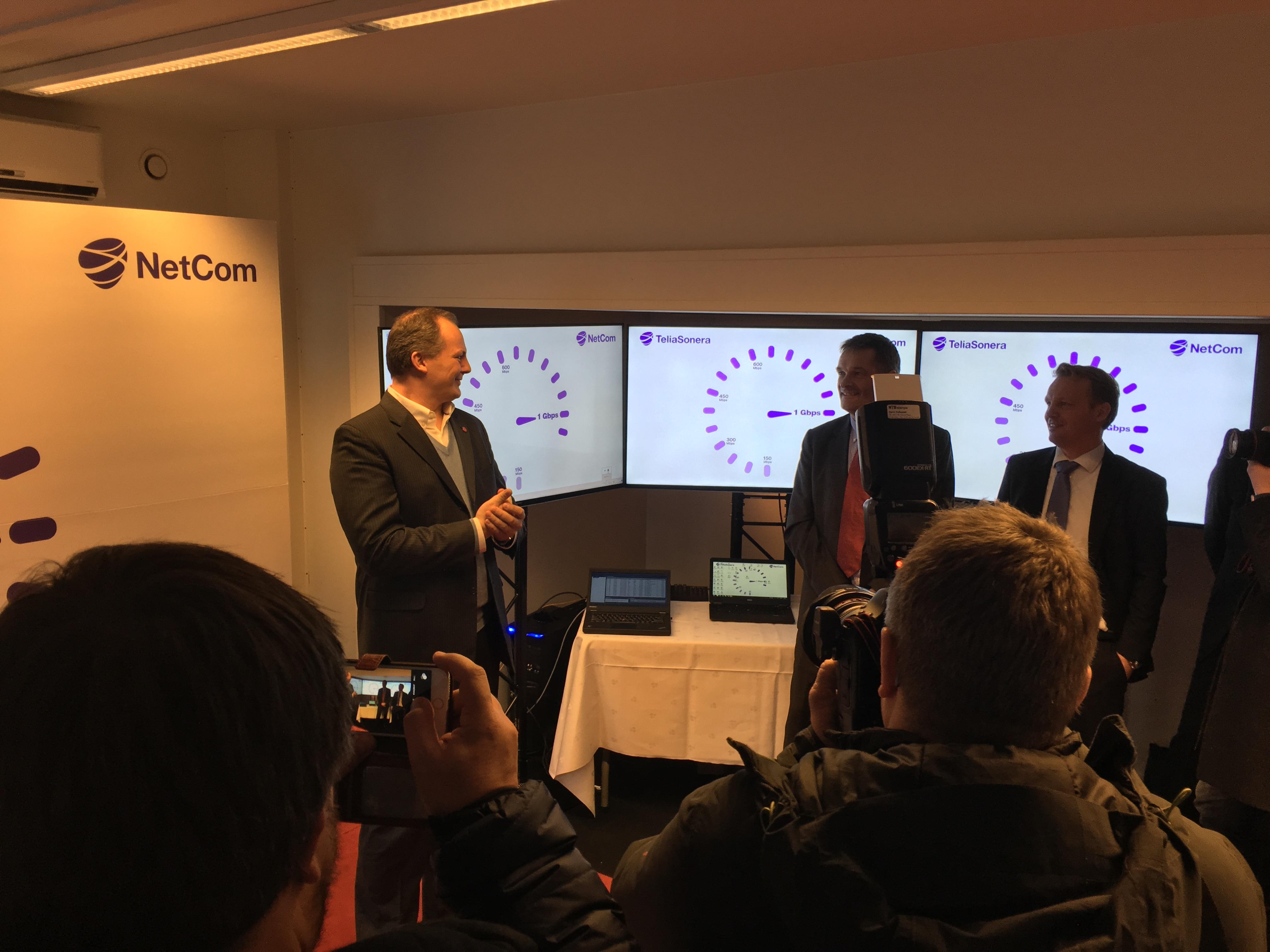 Ketil Solvik-Olsen er stolt av det norske telekom-markedet og ser frem til trådløse supernett i hele landet.