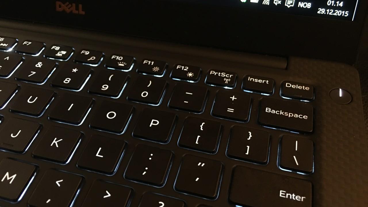 """Tastaturet er svært behagelig, og krever i motsetning til MacBook 12"""" ikke tilvenning."""