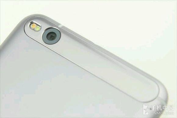 Slik skal baksiden på One X9 se ut.