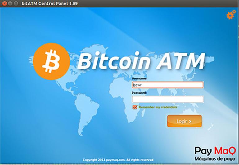 BitCoin ATM softaren er utviklet av spanske Pay MaQ