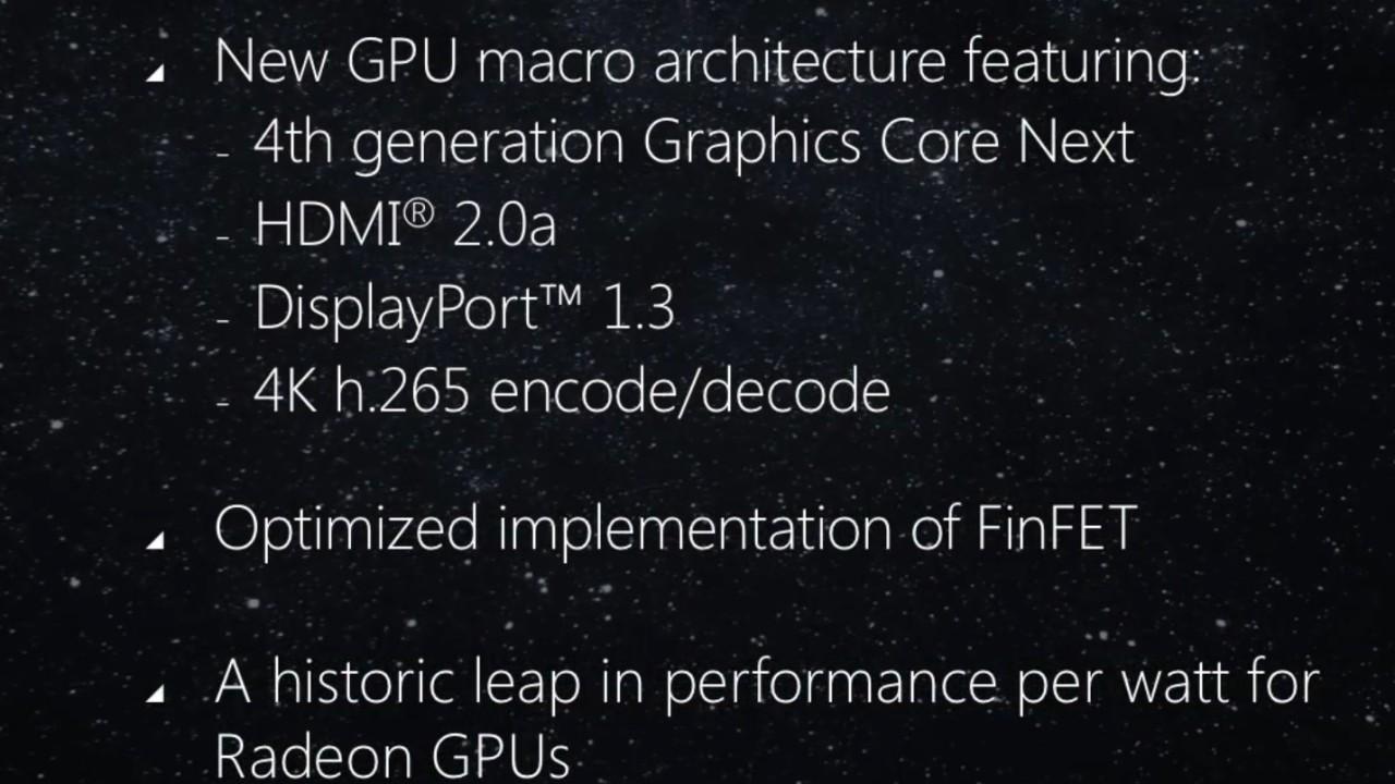 Dette er AMDs nye grafikkplattform.