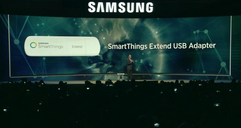 Dette er SmartThings-adapteren.