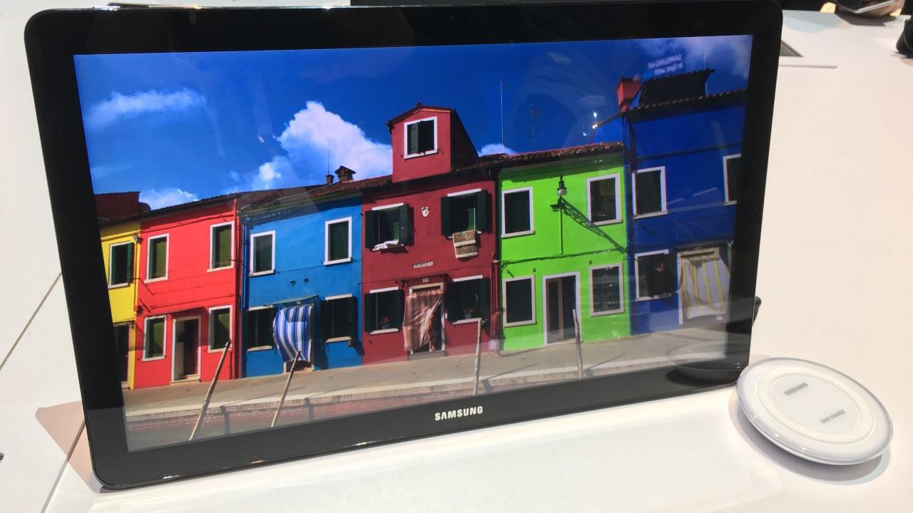 Galaxy View kan være smart for de som ikke orker en stor TV fastmontert i stua.