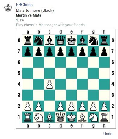 Slik spiller du Messenger-sjakk.