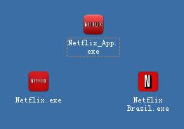 Eksempel på NetFlix Malware