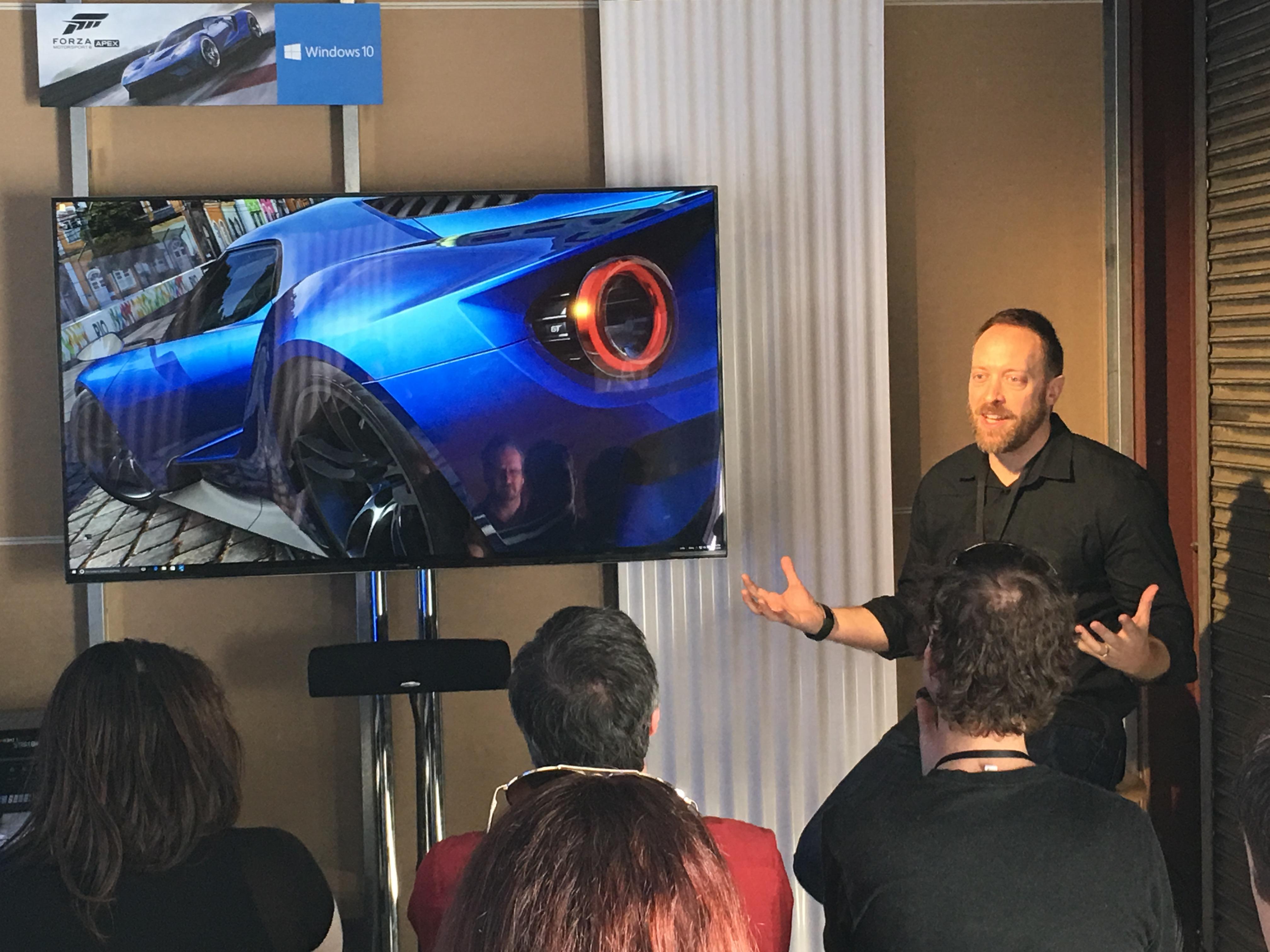 Dan Greenawalt er Turn 10 sin kreative sjef, og Forza-varemerkets ansikt utad.