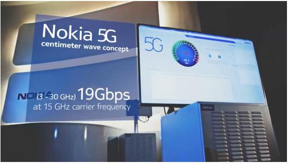 Nokias 5G PR.