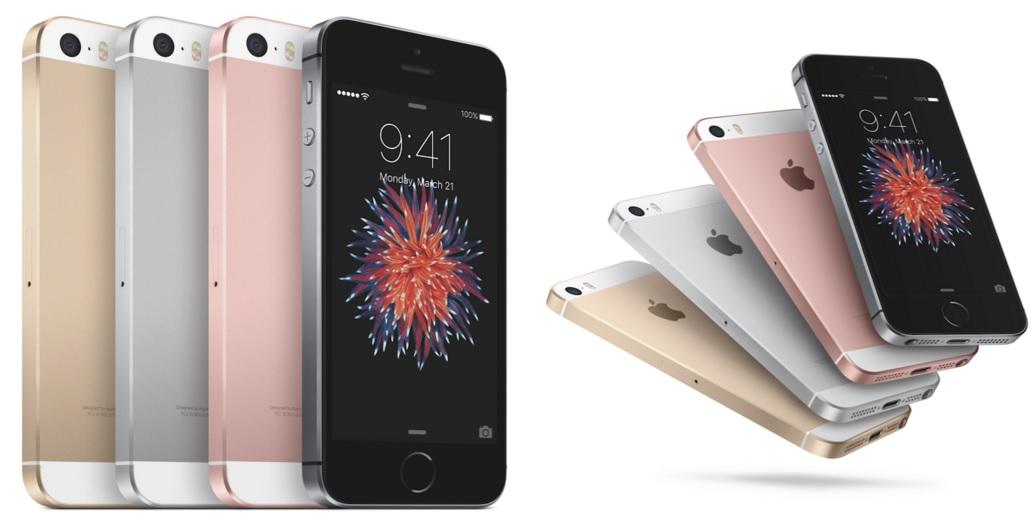 Dette er nye 4 tommer iPhone SE.