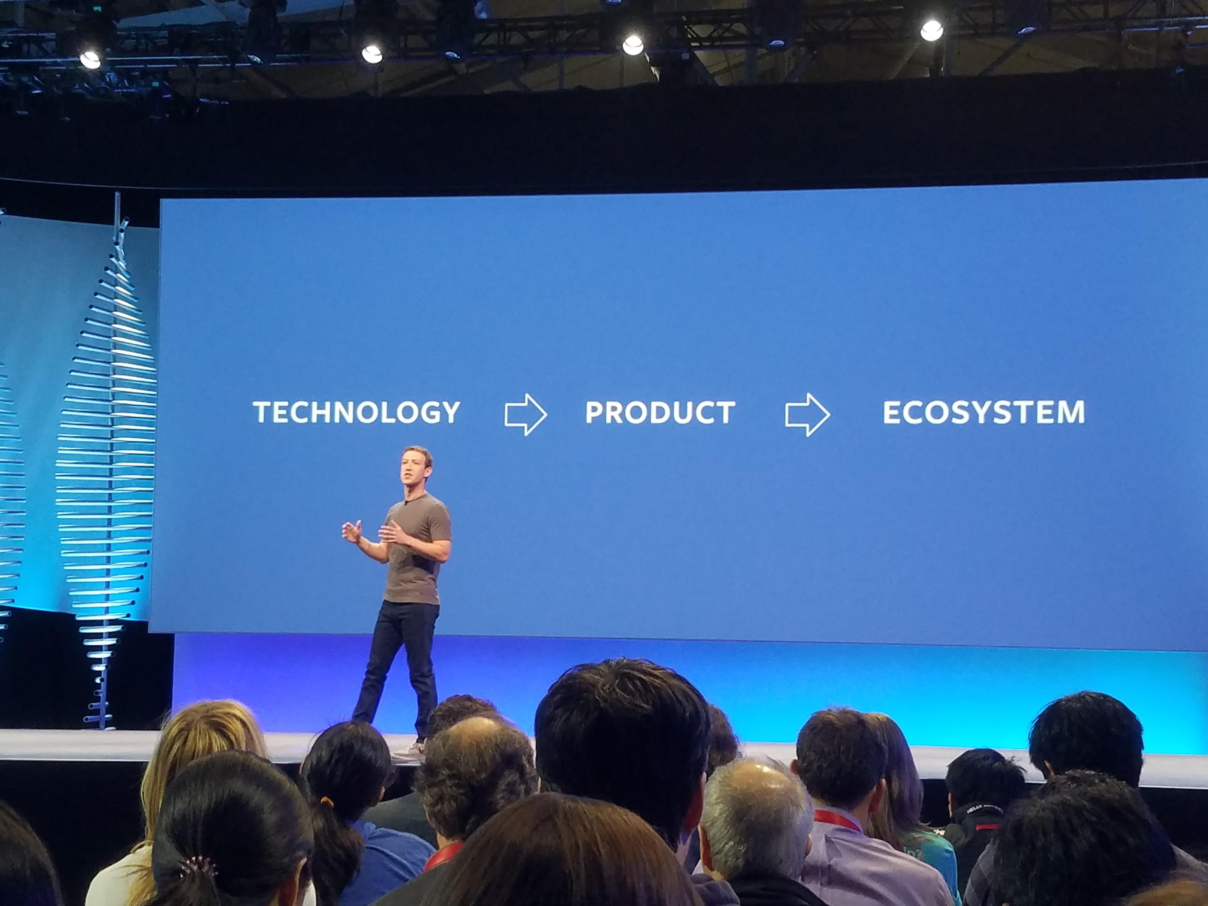 Først skaper de teknologien, deretter produktet, for så å lage et økosystem rundt det hele.