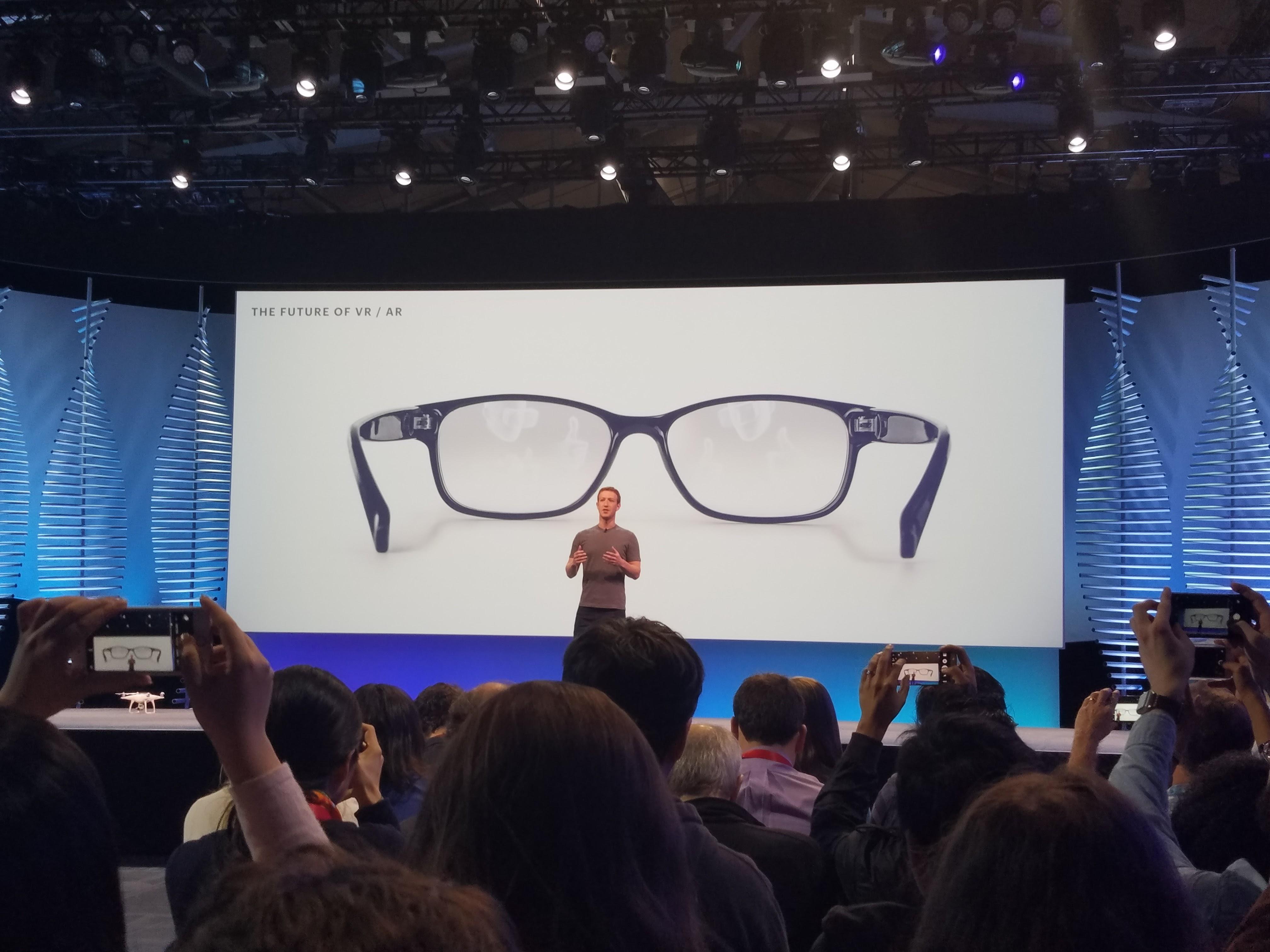 Fra Rift til briller med VR og AR innebygget - dette er Facebooks visjon.
