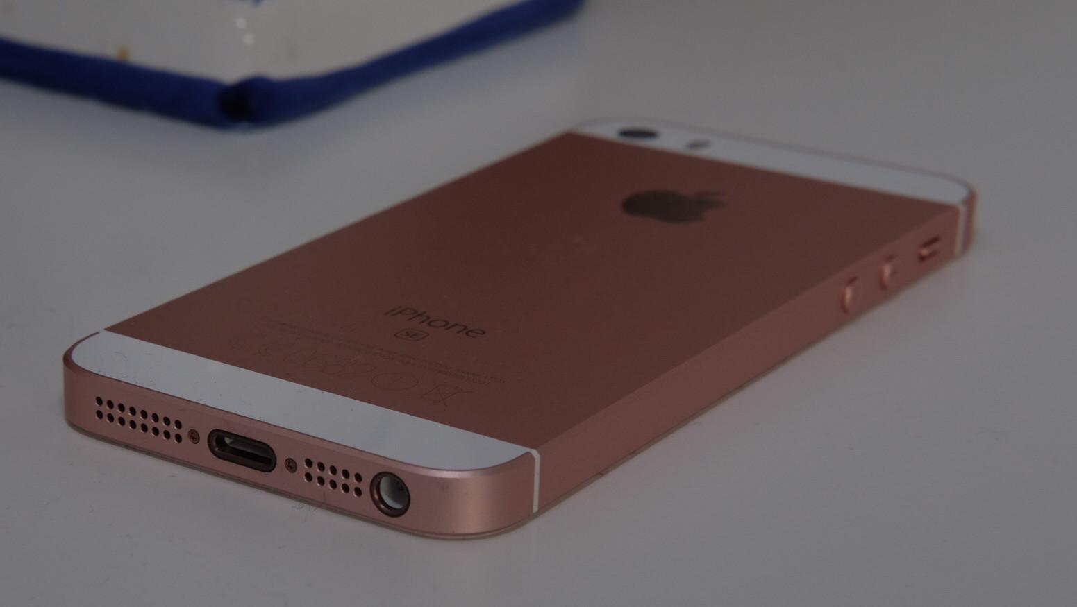 iPhone SE er en nydelig mobiltelefon.