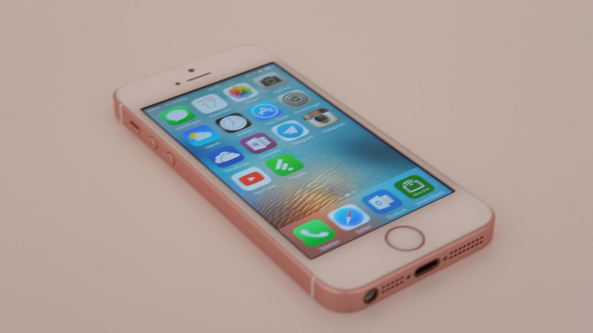 iPhone SE har høy ytelse og ypperlig batteritid.