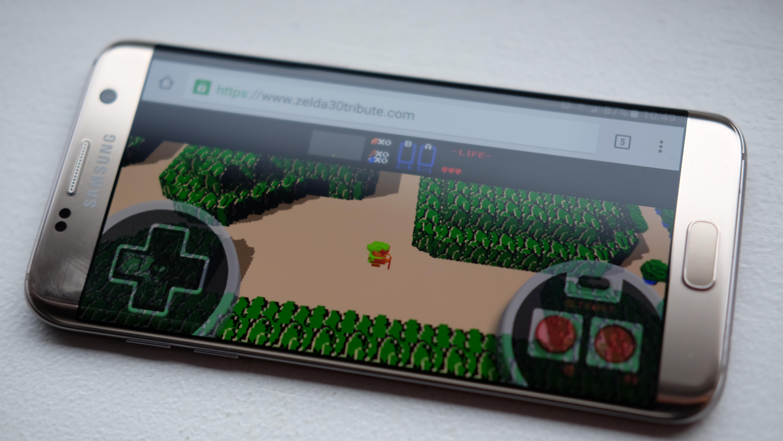 Zelda30Tribute fungerer også på mobil.