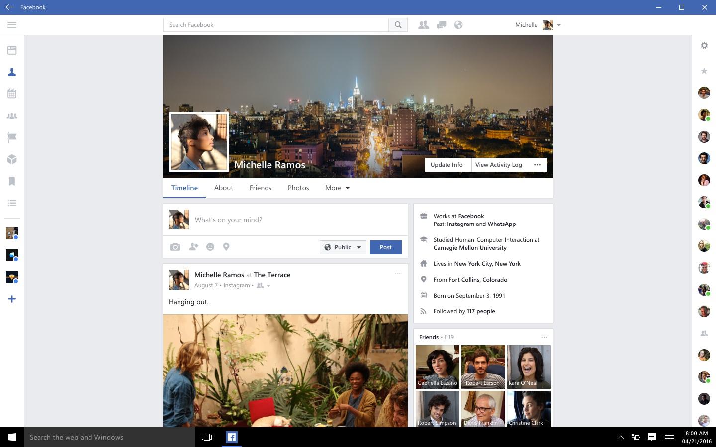 Nå er Facebook og Facebook Messenger endelig på Windows 10.