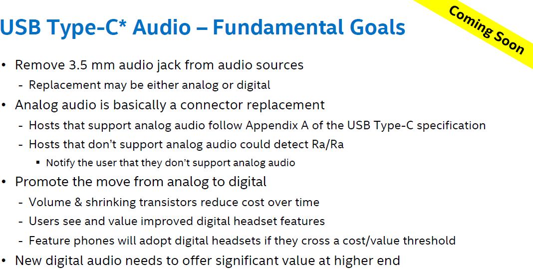 Slik forklarer Intel USB-C Audio.