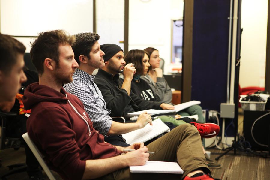 Mange av elevene på DevBootcamp ser etter en ny karrierevei som programmerere
