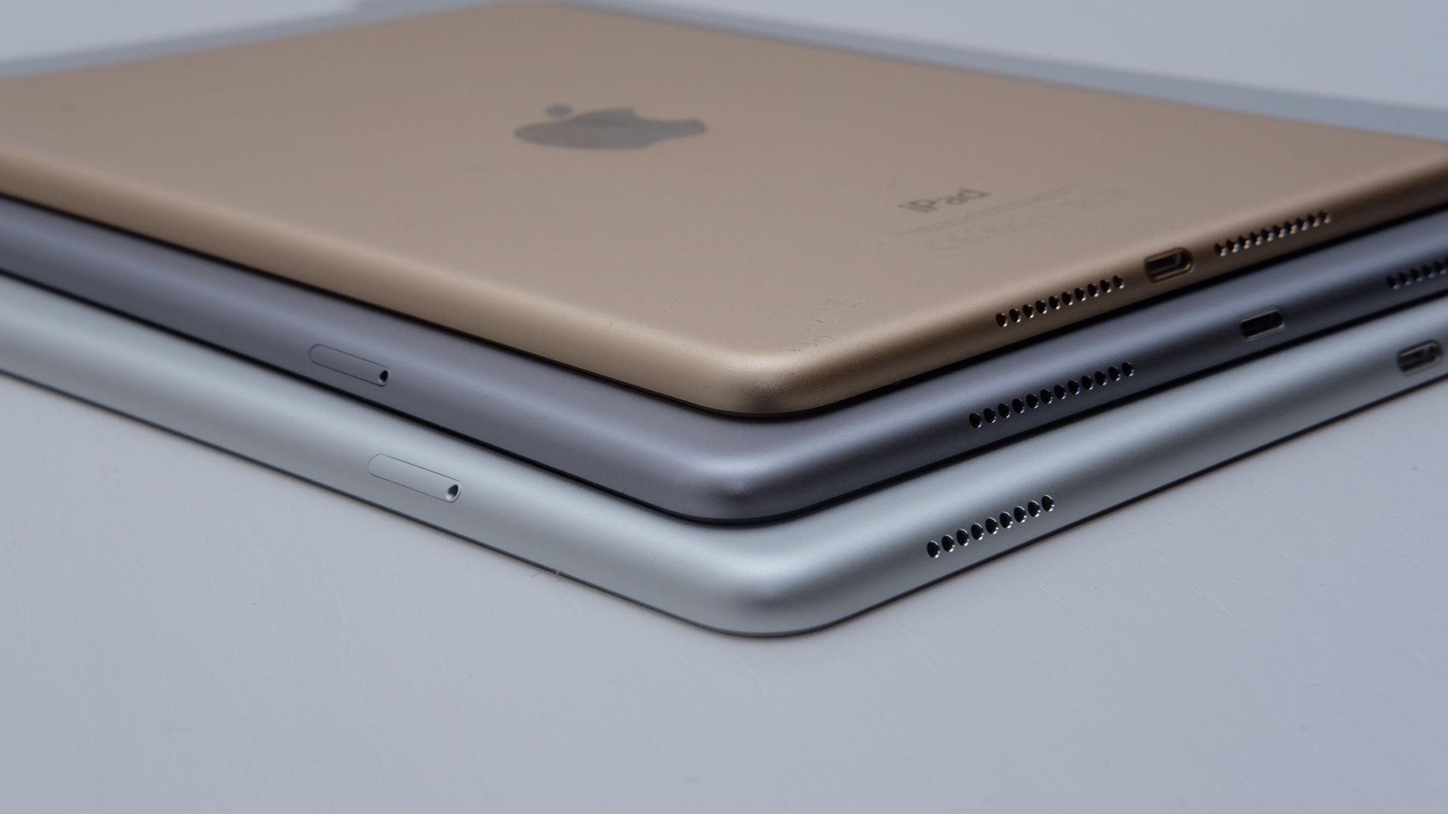 iPad mini 4, iPad Pro 9,7 og iPad Pro 12,9.