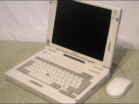 Det er en slik Compaq LTE 5280-PC bruker McLaren.