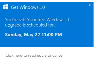 Se nederste lenke, der kan du stoppe den planlagte installasjonen.