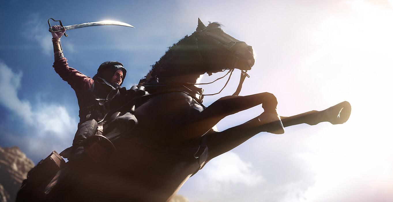 Battlefield 1 er langt mer eksotisk enn tidligere titler. Det loves brutal krigføring.