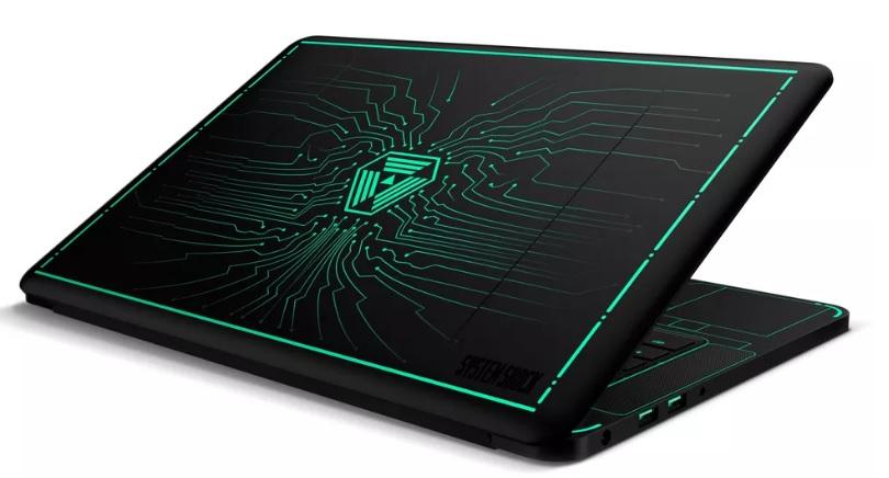 Lyst på en System Shock-spillbærbarfra Razer som faktisk ser veldig bra ut? Da må du ut med 5000 dollar.